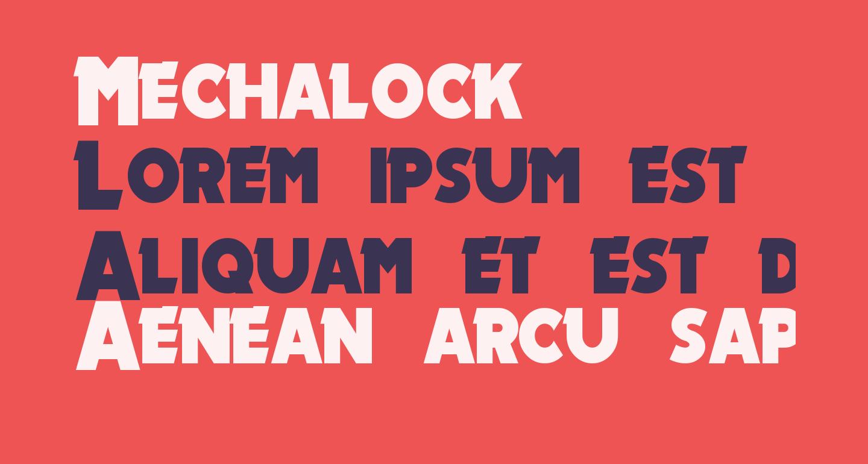Mechalock