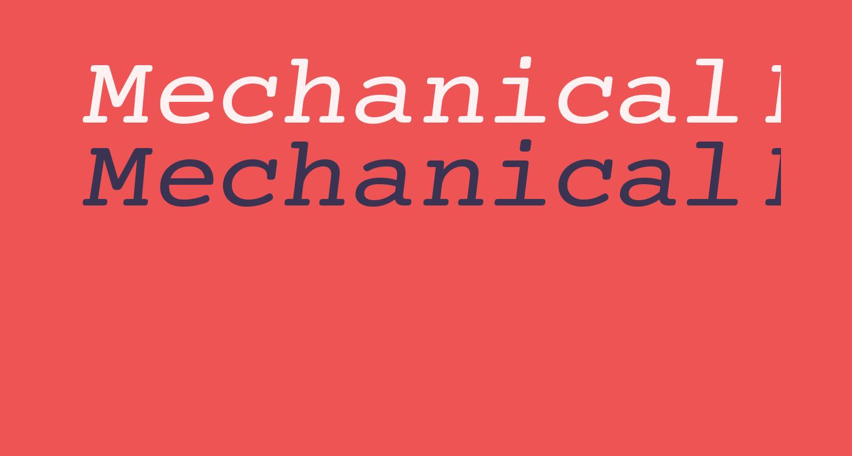 Mechanical Extended Oblique