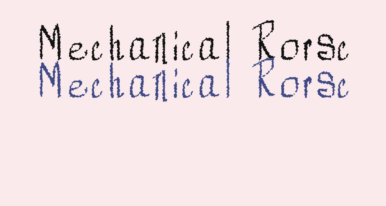 Mechanical Rorschach