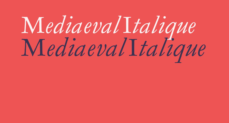 MediaevalItalique
