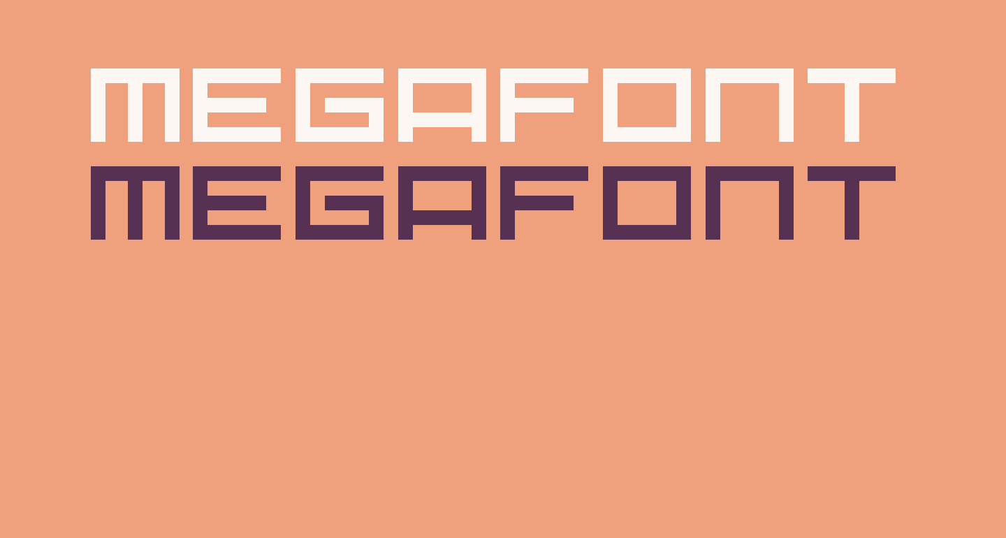Megafont Regular
