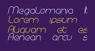 Megalomania Italic