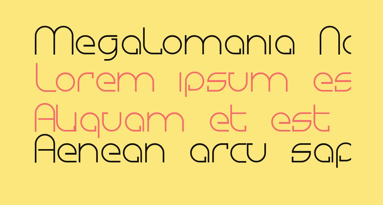 Megalomania Normal