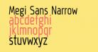Megi Sans Narrow