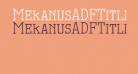 MekanusADFTitlingStd-Regular