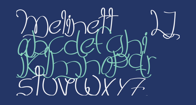 Melinett 3 - LJ-Design Studios Italic