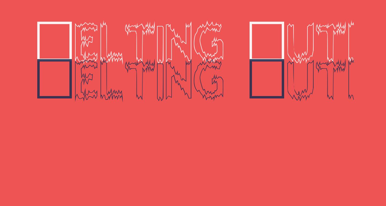 Melting Outline