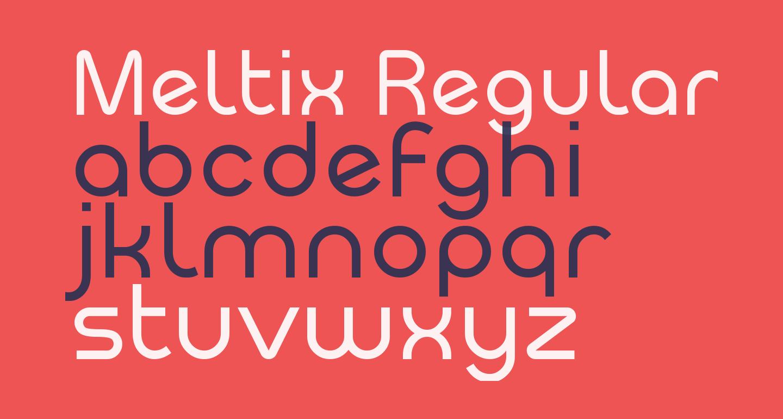Meltix Regular Demo