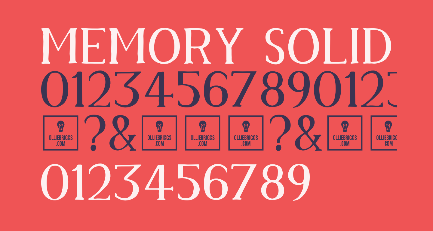 Memory Solid