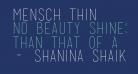 Mensch Thin