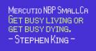 Mercutio NBP SmallCaps