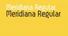Meridiana Regular