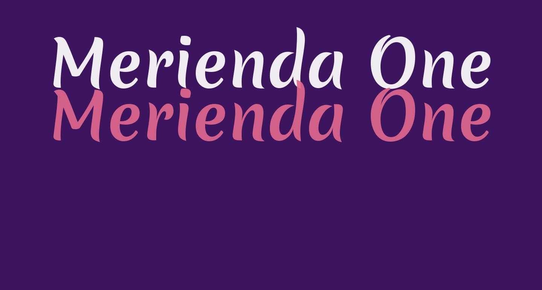 Merienda One