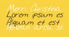 Merri Christina Bold Italic