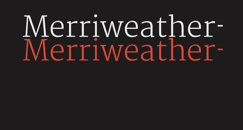Merriweather-Light