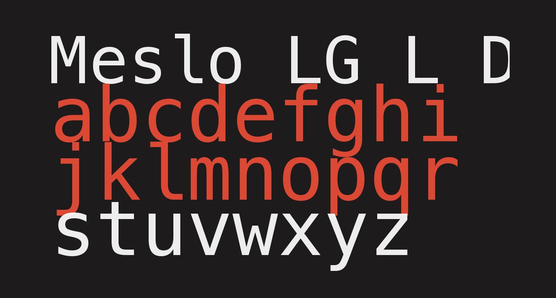 Meslo LG L DZ Regular