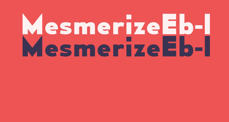 MesmerizeEb-Regular