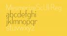 MesmerizeScUl-Regular