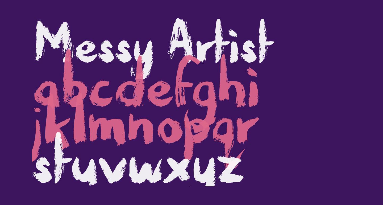 Messy Artist