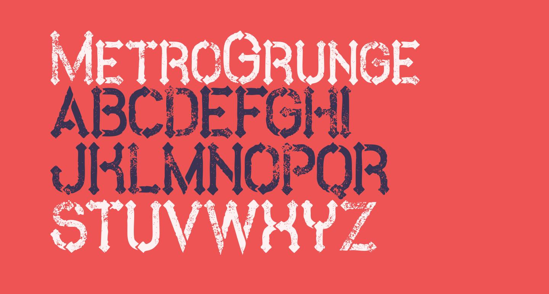 MetroGrunge