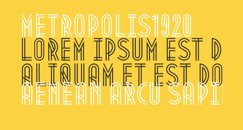 Metropolis1920