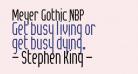 Meyer Gothic NBP