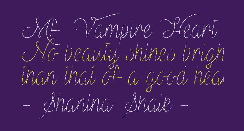 Mf Vampire Heart