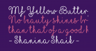 Mf Yellow Butterflies
