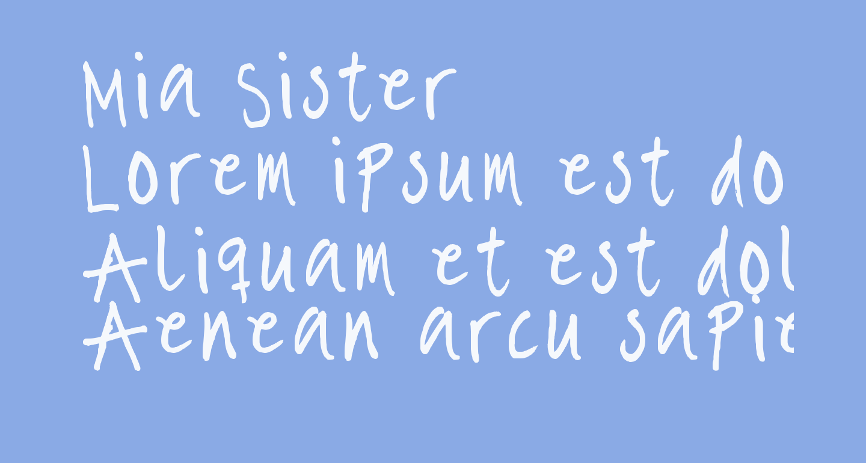 Mia Sister