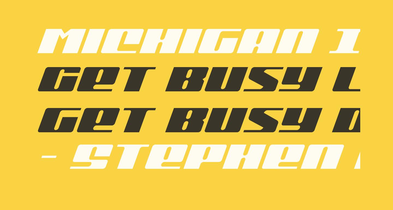 Michigan Italic