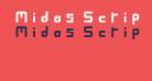 Midas Script Regular