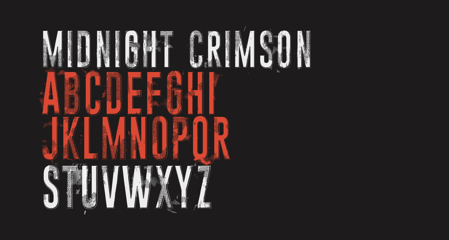 Midnight crimson