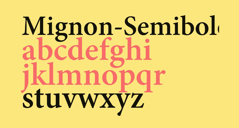 Mignon-Semibold