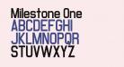 Milestone One