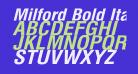 Milford Bold Italic