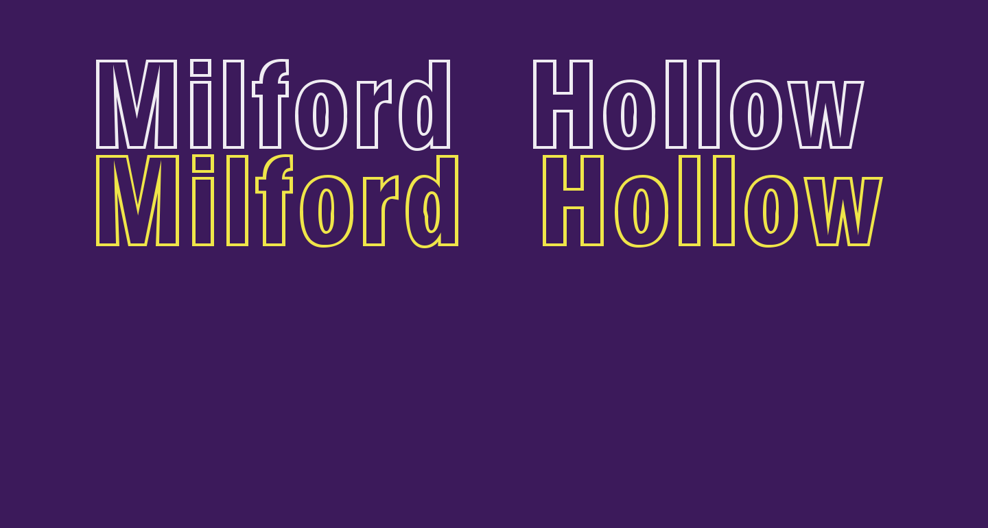 Milford Hollow