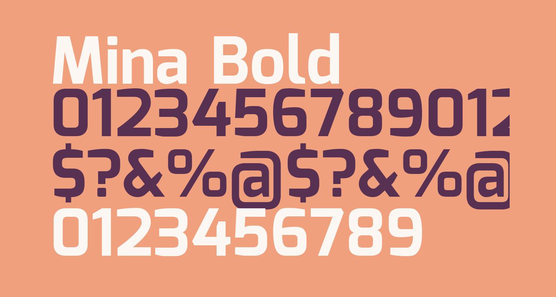 Mina Bold