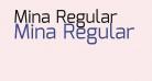 Mina Regular
