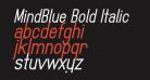 MindBlue Bold Italic