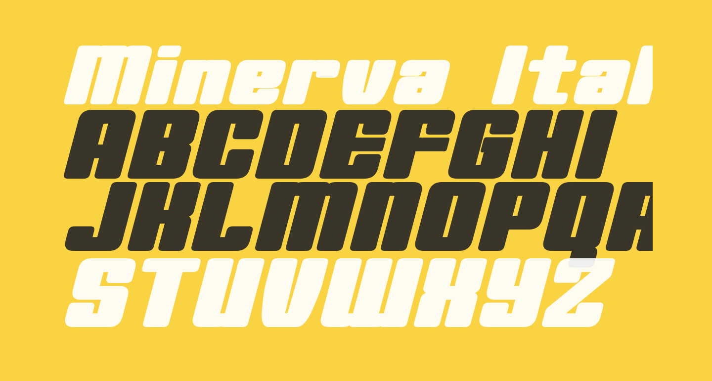 Minerva Italic