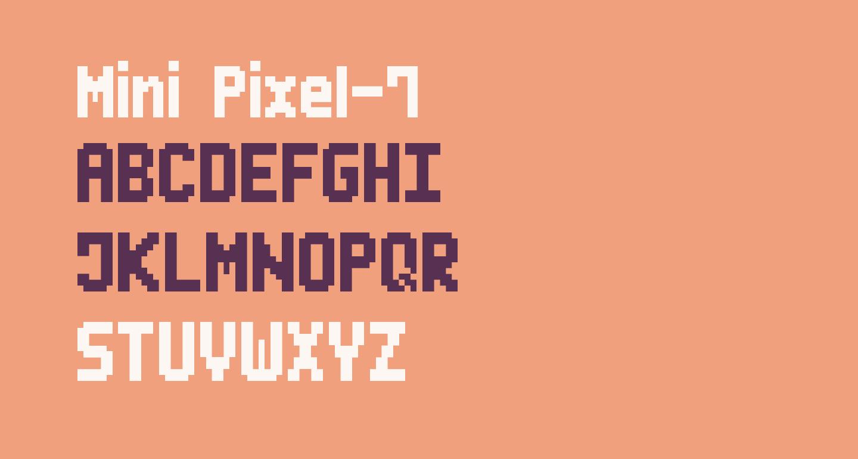 Mini Pixel-7