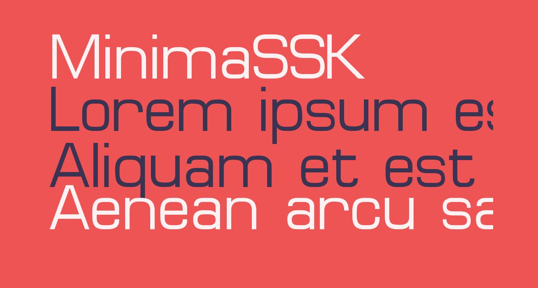 MinimaSSK