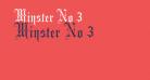 Minster No 3