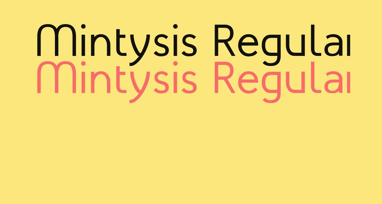 Mintysis Regular
