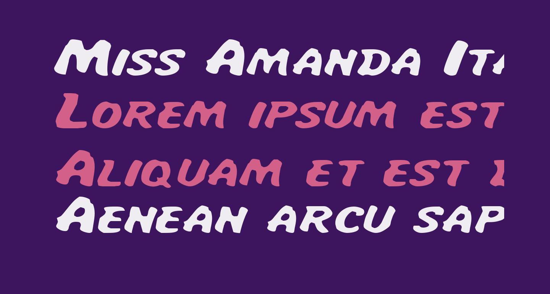 Miss Amanda ItalExp