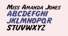 Miss Amanda Jones Ital