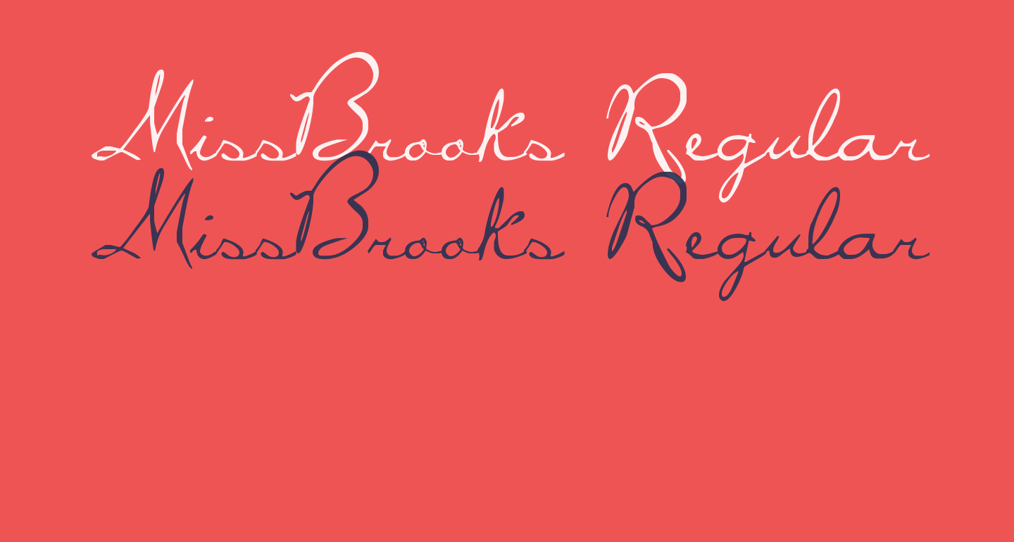 MissBrooks Regular