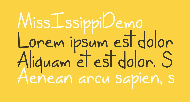 MissIssippiDemo