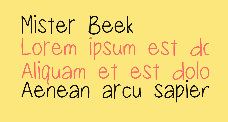 Mister Beek