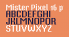 Mister Pixel 16 pt - Old Style Figure